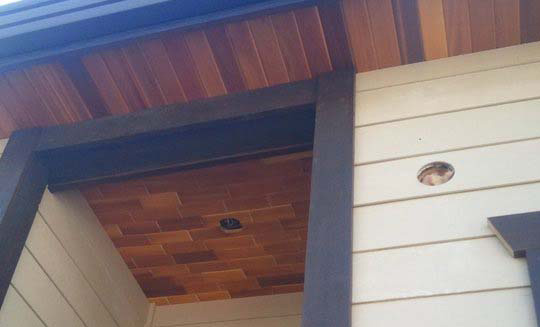 Wood Soffits